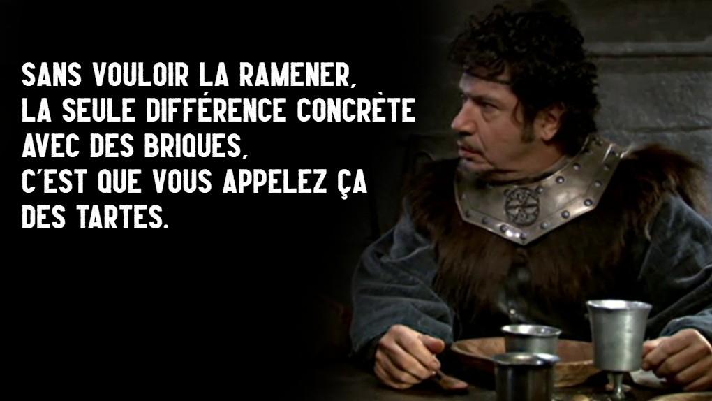 Citation de Léodagan, Episode Les Tartes aux myrtilles, Saison