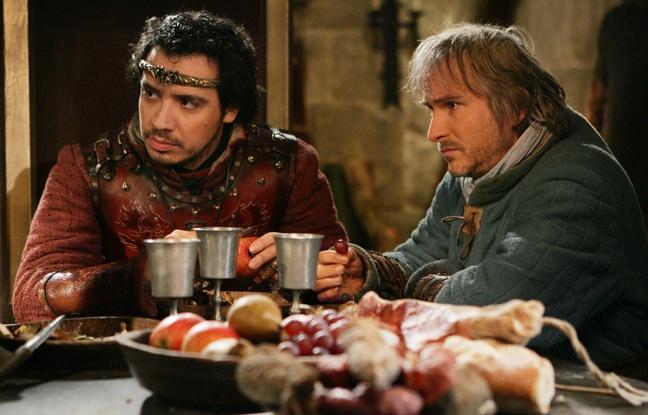 Arthur Pendragon et Perceval dans Kaamelott